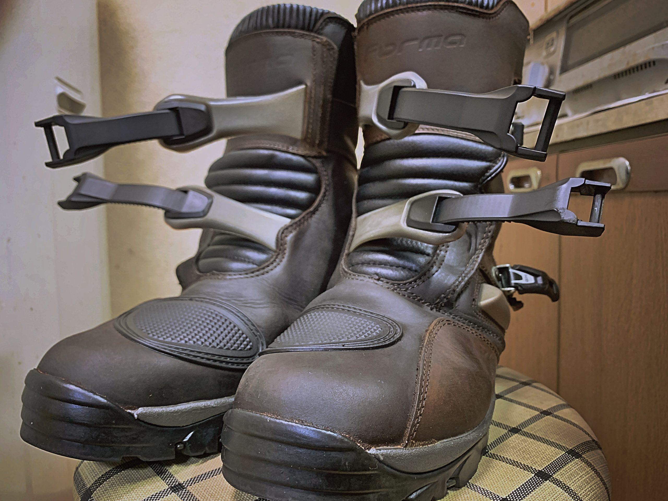 靴磨きとGSX250R